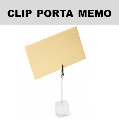 Clip porta memo
